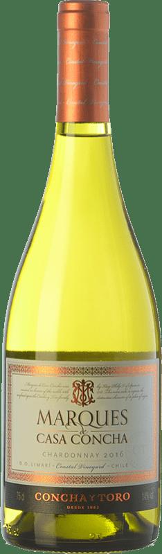 17,95 € Free Shipping   White wine Concha y Toro Marqués de Casa Concha Crianza Valle del Limarí Chile Chardonnay Bottle 75 cl