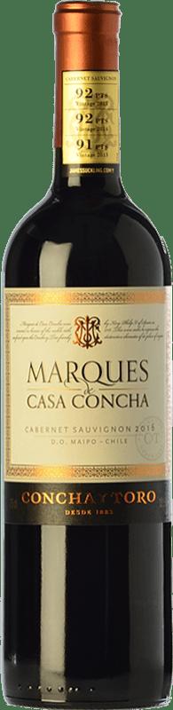 17,95 € Free Shipping   Red wine Concha y Toro Marqués de Casa Concha Crianza I.G. Valle del Cachapoal Chile Cabernet Sauvignon Bottle 75 cl