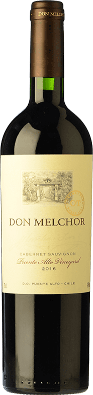 89,95 € Free Shipping   Red wine Concha y Toro Don Melchor Reserva I.G. Valle del Maipo Maipo Valley Chile Merlot, Cabernet Sauvignon, Cabernet Franc, Petit Verdot Bottle 75 cl