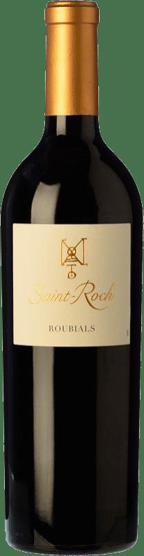 18,95 € Free Shipping | Red wine Domaine Lafage Château Saint-Roch Roubials Roble A.O.C. Côtes du Roussillon Roussillon France Grenache Bottle 75 cl
