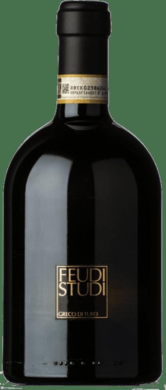 41,95 € Free Shipping | White wine Feudi di San Gregorio Laura D.O.C.G. Greco di Tufo Campania Italy Greco Bottle 75 cl