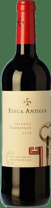 7,95 € Free Shipping | Red wine Finca Antigua Crianza D.O. La Mancha Castilla la Mancha Spain Tempranillo Bottle 75 cl