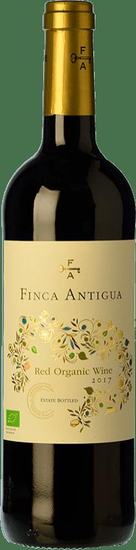 8,95 € Free Shipping | Red wine Finca Antigua Orgánico Roble D.O. La Mancha Castilla la Mancha Spain Syrah, Grenache Bottle 75 cl