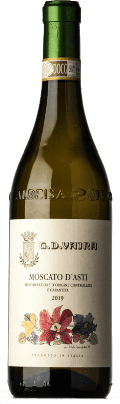 12,95 € Free Shipping | Sweet wine G.D. Vajra D.O.C.G. Moscato d'Asti Piemonte Italy Muscat White Bottle 75 cl