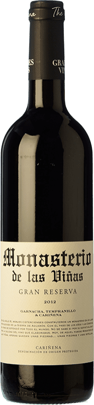 11,95 € Free Shipping   Red wine Grandes Vinos Monasterio de las Viñas Gran Reserva D.O. Cariñena Spain Tempranillo, Grenache, Carignan Bottle 75 cl