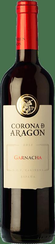 5,95 € Free Shipping   Red wine Grandes Vinos Corona de Aragón Joven D.O. Cariñena Spain Grenache Bottle 75 cl