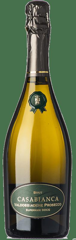 10,95 € Free Shipping   White sparkling Loredan Gasparini Casa Bianca Brut D.O.C.G. Prosecco di Conegliano-Valdobbiadene Veneto Italy Glera Bottle 75 cl