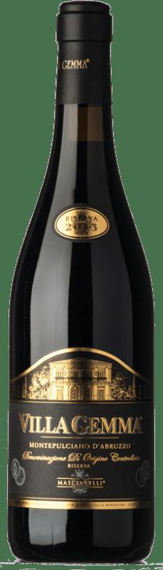 63,95 € Free Shipping   Red wine Masciarelli Villa Gemma Riserva Reserva D.O.C. Montepulciano d'Abruzzo Abruzzo Italy Montepulciano Bottle 75 cl