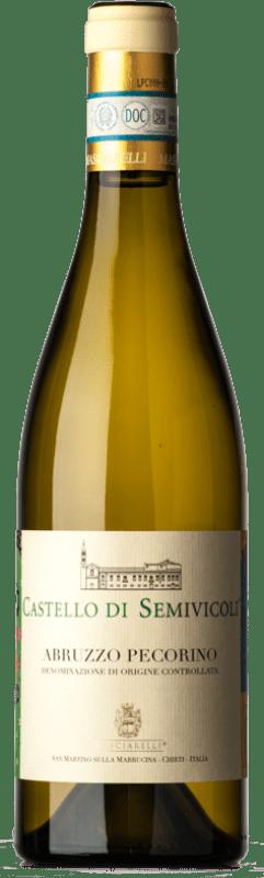 16,95 € Free Shipping   White wine Masciarelli Castello di Semivicoli D.O.C. Abruzzo Abruzzo Italy Pecorino Bottle 75 cl