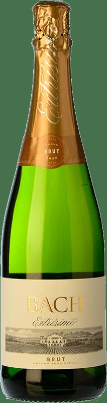 5,95 € Free Shipping | White sparkling Bach Extrísimo Brut D.O. Cava Spain Macabeo, Xarel·lo, Parellada Bottle 75 cl