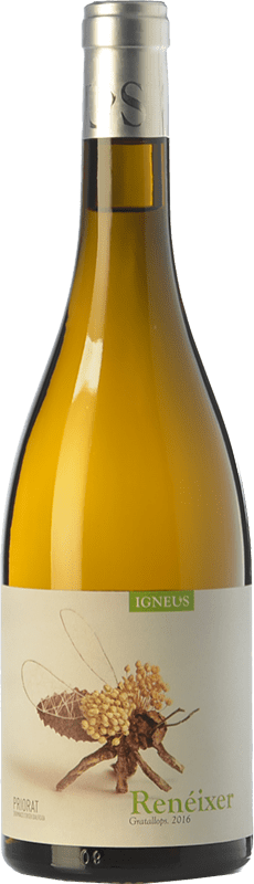 13,95 € Free Shipping | White wine Mas Igneus Renéixer Blanc D.O.Ca. Priorat Catalonia Spain Grenache, Grenache White Bottle 75 cl