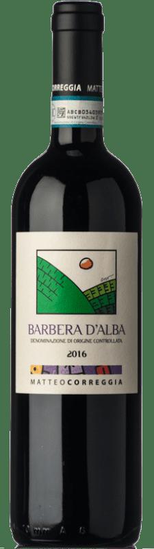 16,95 € Free Shipping | Red wine Matteo Correggia D.O.C. Barbera d'Alba Piemonte Italy Barbera Bottle 75 cl
