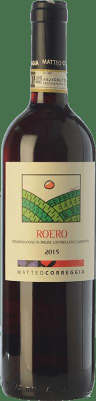 18,95 € Free Shipping | Red wine Matteo Correggia D.O.C.G. Roero Piemonte Italy Nebbiolo Bottle 75 cl