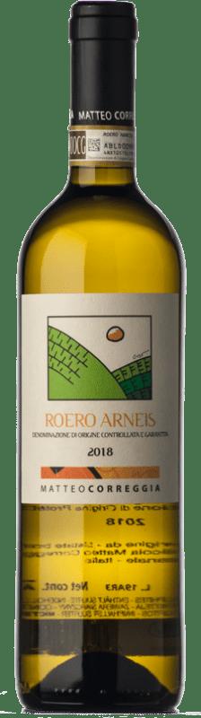 14,95 € Free Shipping | White wine Matteo Correggia D.O.C.G. Roero Piemonte Italy Arneis Bottle 75 cl