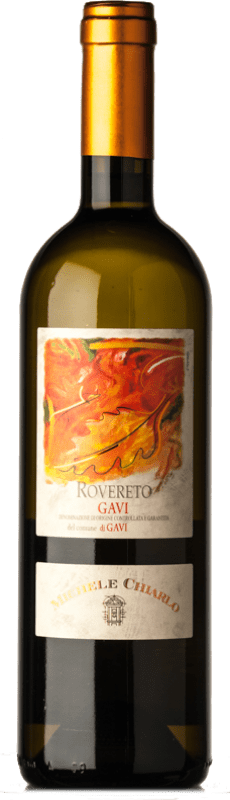 15,95 € Free Shipping | White wine Michele Chiarlo Rovereto D.O.C.G. Cortese di Gavi Piemonte Italy Cortese Bottle 75 cl