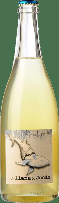 24,95 € Free Shipping | White sparkling Microbio Va-llena x Jonás Brut Spain Verdejo Bottle 75 cl