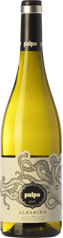 13,95 € Free Shipping   White wine Pagos del Rey Pulpo D.O. Rías Baixas Galicia Spain Albariño Bottle 75 cl