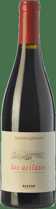 22,95 € Free Shipping   Red wine Palacio Quemado Acilates Crianza D.O. Ribera del Guadiana Spain Tempranillo, Syrah, Cabernet Sauvignon Bottle 75 cl