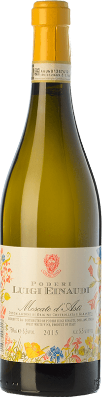 10,95 € Free Shipping | Sweet wine Einaudi D.O.C.G. Moscato d'Asti Piemonte Italy Muscat White Bottle 75 cl