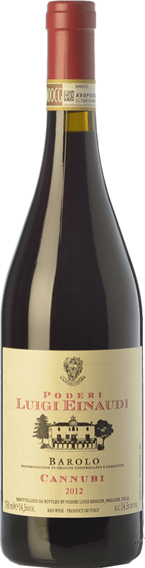 69,95 € Free Shipping | Red wine Einaudi Cannubi D.O.C.G. Barolo Piemonte Italy Nebbiolo Bottle 75 cl