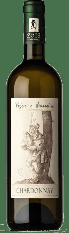 16,95 € Free Shipping | White wine Pojer e Sandri I.G.T. Vigneti delle Dolomiti Trentino-Alto Adige Italy Chardonnay Bottle 75 cl