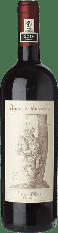 19,95 € Free Shipping | Red wine Pojer e Sandri I.G.T. Vigneti delle Dolomiti Trentino-Alto Adige Italy Pinot Black Bottle 75 cl