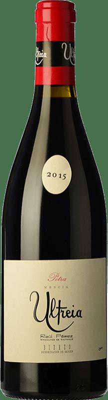 47,95 € Free Shipping | Red wine Raúl Pérez Ultreia Petra Crianza D.O. Bierzo Castilla y León Spain Mencía Bottle 75 cl