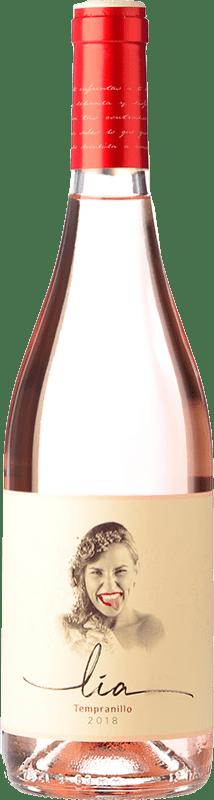 8,95 € Free Shipping | Rosé wine Ventosilla PradoRey Lia Joven D.O. Ribera del Duero Castilla y León Spain Tempranillo Bottle 75 cl