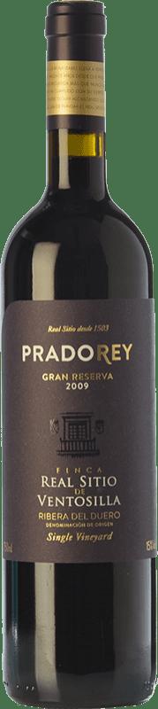 49,95 € Free Shipping | Red wine Ventosilla PradoRey Finca Real Sitio Ventosilla Gran Reserva D.O. Ribera del Duero Castilla y León Spain Tempranillo, Merlot, Cabernet Sauvignon Bottle 75 cl