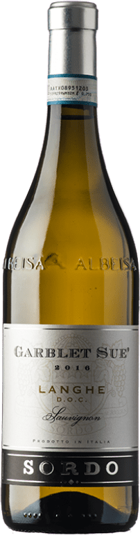 11,95 € Free Shipping   White wine Sordo Garblet Sué D.O.C. Langhe Piemonte Italy Sauvignon Bottle 75 cl
