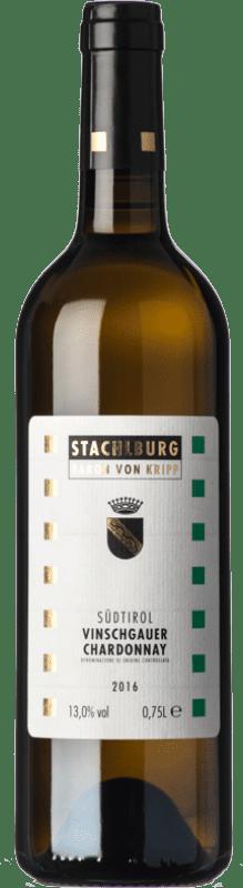 19,95 € Free Shipping | White wine Stachlburg D.O.C. Alto Adige Trentino-Alto Adige Italy Chardonnay Bottle 75 cl