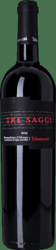 15,95 € Free Shipping   Red wine Talamonti Tre Saggi D.O.C. Montepulciano d'Abruzzo Abruzzo Italy Montepulciano Bottle 75 cl