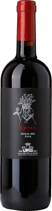 7,95 € Free Shipping   Red wine Tasca d'Almerita Sallier de La Tour D.O.C. Sicilia Sicily Italy Syrah Bottle 75 cl