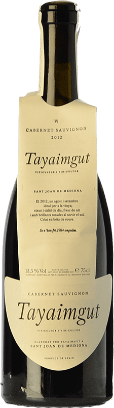 15,95 € Free Shipping   Red wine Tayaimgut Crianza D.O. Penedès Catalonia Spain Cabernet Sauvignon Bottle 75 cl