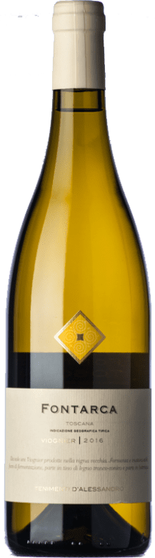23,95 € Free Shipping | White wine Tenimenti d'Alessandro Fontarca I.G.T. Toscana Tuscany Italy Viognier Bottle 75 cl