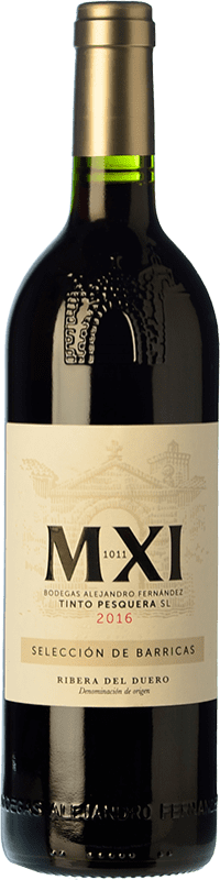 29,95 € Free Shipping | Red wine Pesquera MXI Crianza D.O. Ribera del Duero Castilla y León Spain Tempranillo Bottle 75 cl