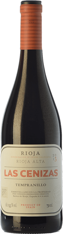 26,95 € Free Shipping | Red wine Hernáiz Las Cenizas Crianza D.O.Ca. Rioja The Rioja Spain Tempranillo, Mazuelo Bottle 75 cl