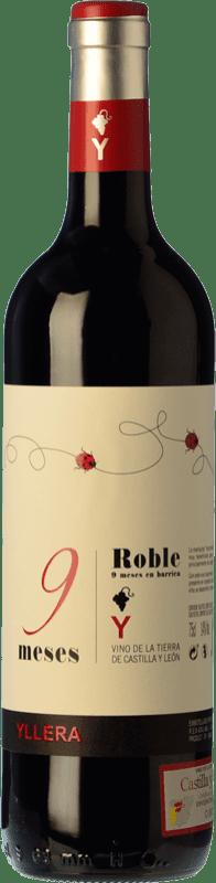 5,95 € Free Shipping | Red wine Yllera 9 Meses Roble I.G.P. Vino de la Tierra de Castilla y León Castilla y León Spain Tempranillo Bottle 75 cl