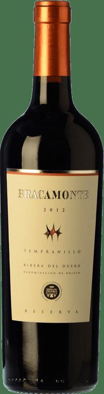 19,95 € Free Shipping | Red wine Yllera Bracamonte Reserva D.O. Ribera del Duero Castilla y León Spain Tempranillo Bottle 75 cl