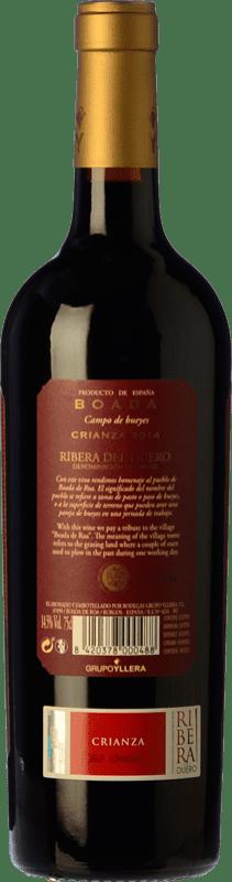 9,95 € Free Shipping   Red wine Yllera Boada Crianza D.O. Ribera del Duero Castilla y León Spain Tempranillo Bottle 75 cl