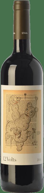 19,95 € 免费送货 | 红酒 4 Kilos 12 Volts Crianza I.G.P. Vi de la Terra de Mallorca 巴利阿里群岛 西班牙 Merlot, Syrah, Cabernet Sauvignon, Callet, Fogoneu 瓶子 75 cl