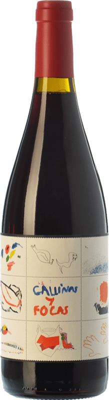 22,95 € Free Shipping | Red wine 4 Kilos Gallinas & Focas Crianza I.G.P. Vi de la Terra de Mallorca Balearic Islands Spain Syrah, Mantonegro Bottle 75 cl