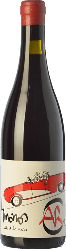 21,95 € | Red wine 4 Monos Crianza D.O. Vinos de Madrid Madrid's community Spain Carignan Bottle 75 cl