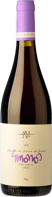 13,95 € | Red wine 4 Monos Joven D.O. Vinos de Madrid Madrid's community Spain Syrah, Grenache Bottle 75 cl