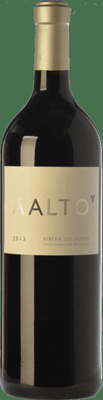 163,95 € 免费送货 | 红酒 Aalto Reserva D.O. Ribera del Duero 卡斯蒂利亚莱昂 西班牙 Tempranillo 瓶子 Jéroboam-双Magnum 3 L