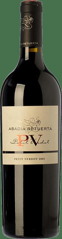 129,95 € 免费送货 | 红酒 Abadía Retuerta Reserva I.G.P. Vino de la Tierra de Castilla y León 卡斯蒂利亚莱昂 西班牙 Petit Verdot 瓶子 75 cl