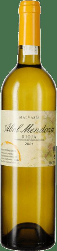 23,95 € Free Shipping | White wine Abel Mendoza Crianza D.O.Ca. Rioja The Rioja Spain Malvasía Bottle 75 cl