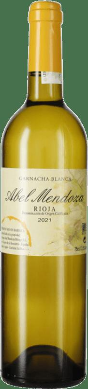 23,95 € Free Shipping | White wine Abel Mendoza Garnacha Crianza D.O.Ca. Rioja The Rioja Spain Grenache White Bottle 75 cl