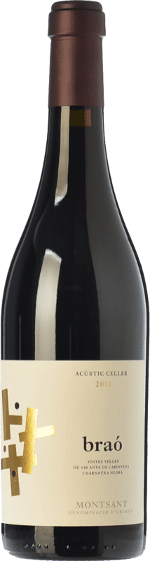 24,95 € | Red wine Acústic Braó Crianza D.O. Montsant Catalonia Spain Grenache, Carignan Bottle 75 cl