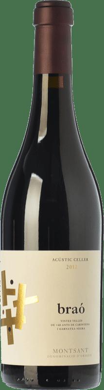 24,95 € Envío gratis | Vino tinto Acústic Braó Crianza D.O. Montsant Cataluña España Garnacha, Cariñena Botella 75 cl